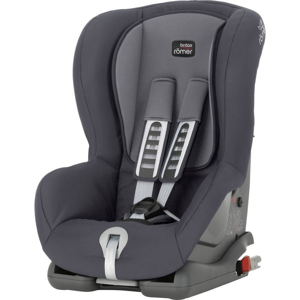 Купить Britax Roemer Автокресло Duo Plus Storm Grey Trendline, серый, Германия