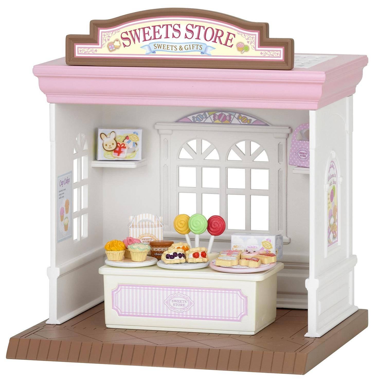 """Sylvanian Families """"Магазин конфет"""" - игровой дом"""