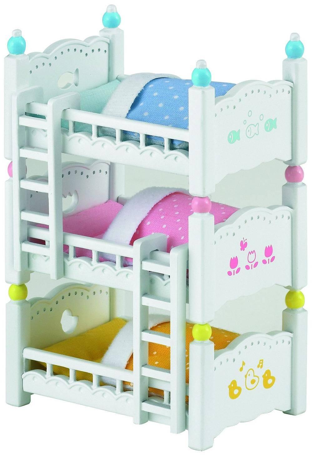 Купить Sylvanian Families Трехъярусная кровать - набор мебели, Китай