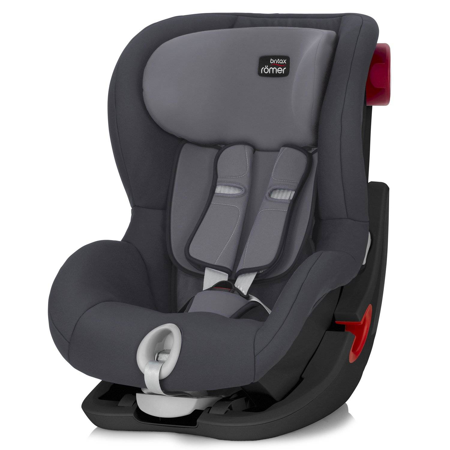 Britax Roemer Автокресло King II Black Series Storm Grey Trendline, серый