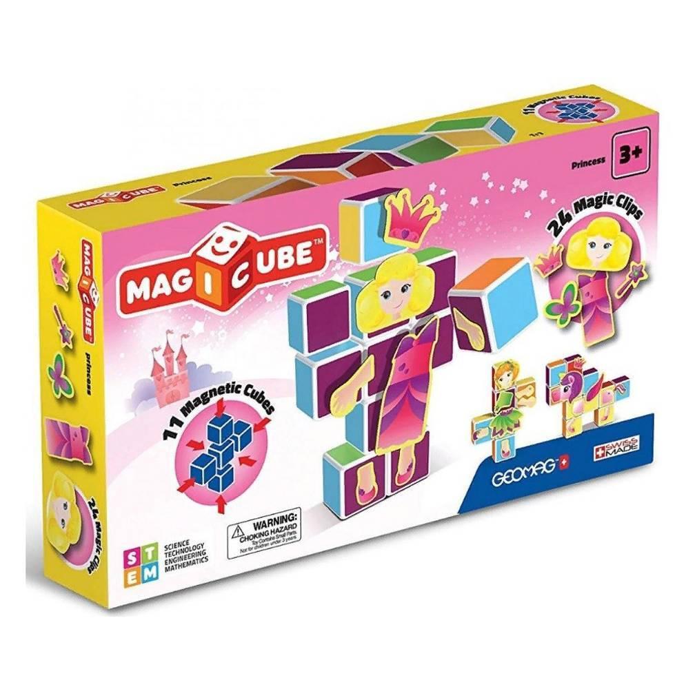 Geomag Магнитный конструктор MagiCube Принцессы 35 деталей.