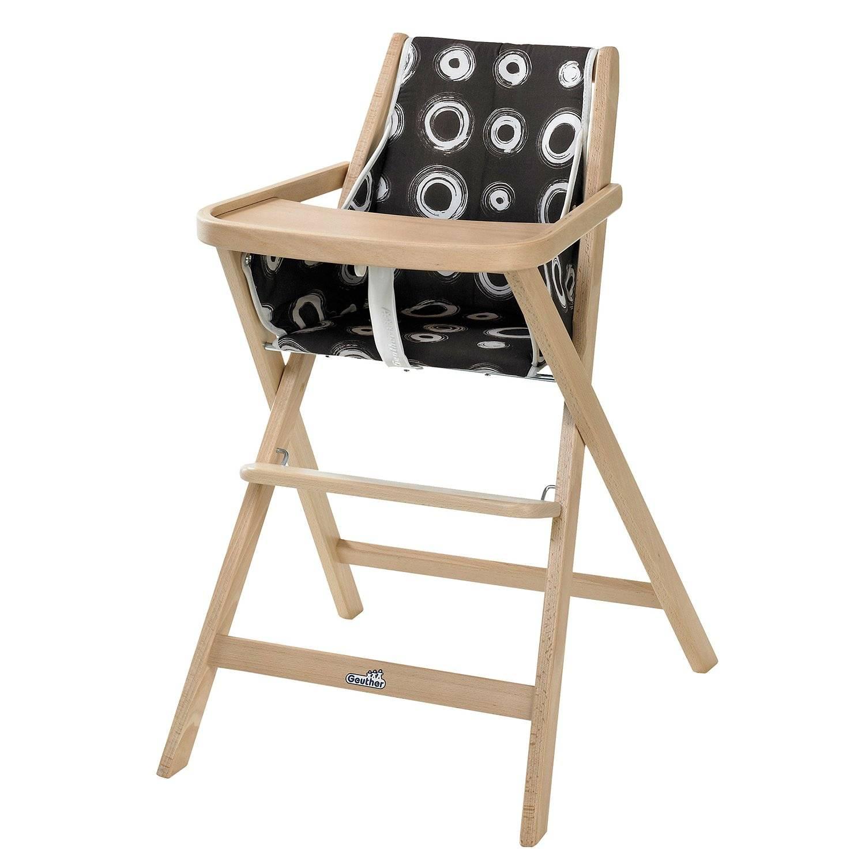 Geuther Складной детский стул для кормления Traveller, натуральный, Германия  - купить со скидкой