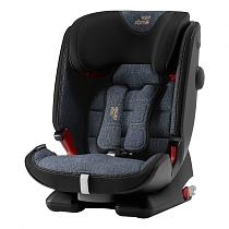 Картинка Britax Roemer Автокресло Advansafix IV R, Blue Marble Highline, синий от магазина gnom.land