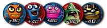 Картинка CATCHUP TOYS Жетоны Spider Spin. Collective Tokens (Blue) SS-002T-BLU от магазина gnom.land
